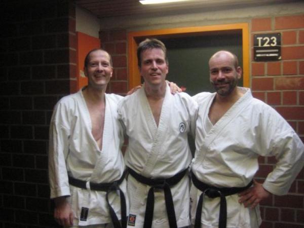 Karatemeister Michael Milde trägt jetzt den 3. Dan