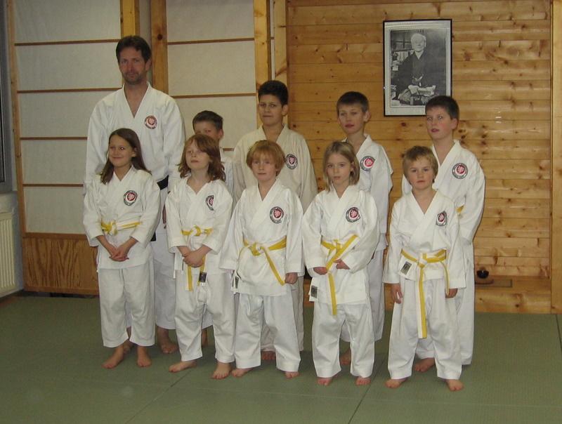Erfolgreiche Karate-Kinder