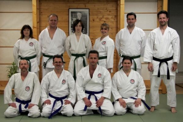 Erfolgreiche Karate-Kämpfer